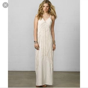 Denim and Supply macrame maxi dress